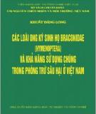 Ebook Các loại ong kí sinh họ Braconidae (Hymenoptera) và khả năng sử dụng chúng trong phòng trừ sâu hại ở Việt Nam: Phần 1 - Khuất Đăng Long