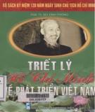 Ebook Triết lý Hồ Chí Minh về phát triển Việt Nam: Phần 1 - PGS.TS. Bùi Đình Phong