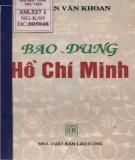 Ebook Bao dung Hồ Chí Minh: Phần 1 - Nguyễn Văn Khoan