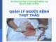 Bài giảng Quản lý người bệnh thụt tháo - GV. Vũ Văn Tiến