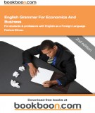 Ebook English grammar for economics and business for students and professors with English as a foreign language: Part 2 - Patricia Ellman