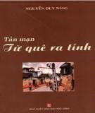 Ebook Tản mạn từ quê ra tỉnh: Phần 1 - Nguyễn Duy Năng