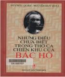 Ebook Những điều chưa biết trong thơ ca chiến khu của Bác Hồ: Phần 1 - Vũ Châu Quán, Nguyễn Huy Quát