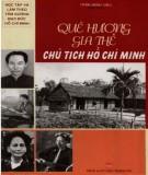 Ebook Quê hương và gia thế Chủ tịch Hồ Chí Minh: Phần 2 - Trần Minh Siêu