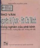 Ebook Thơ văn Nguyễn Ái Quốc - Hồ Chí Minh trong nghiên cứu phê bình (Tình hình tư liệu, hướng tiếp cận, những vấn đề): Phần 2 - Nguyễn Xuân Lạn