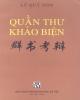 Ebook Quần thư khảo biện: Phần 1 - Lê Quý Đôn