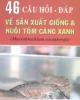 Ebook 46 câu hỏi - đáp về sản xuất giống và nuôi tôm càng xanh - Phạm Văn Tình
