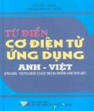 Ebook Từ điển cơ điện tử ứng dụng Anh - Việt: Phần 1