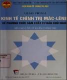 Giáo trình Kinh tế chính trị Mác - Lênin về phương thức sản xuất tư bản chủ nghĩa (hệ cao cấp lý luận chính trị): Phần 2