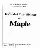 Ebook Triển khai toán rời rạc với Maple: Phần 1