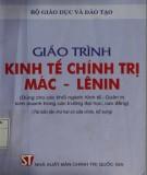 Giáo trình Kinh tế chính trị Mác - Lênin: Phần 1