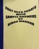 Past IELTS essays with sample answers - Kiran Makkar