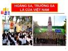 Bài giảng Hoàng Sa, Trường Sa là của Việt Nam