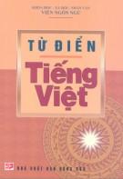 Ebook Từ điển tiếng Việt: Phần 2