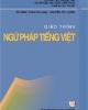 Giáo trình Ngữ pháp tiếng Việt: Phần 1