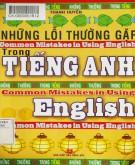 Ebook Những lỗi thường gặp trong tiếng Anh: Phần 2