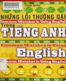 Ebook Những lỗi thường gặp trong tiếng Anh: Phần 1
