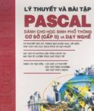 Giáo trình Lý thuyết và bài tập Pascal - NXB Thống kê