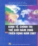 Kinh tế, chính trị thế giới năm 2006 và triển vọng năm 2007 : Phần 1