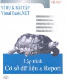 Ebook Ví dụ & Bài tập Visual Basic.NET – Lập trình cơ sở dữ liệu & Report: Phần 1