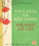 Ebook Văn hóa và nếp sống Hà Nhì - Lô Lô: Phần 1