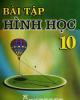 Ebook Bài tập Hình học 10: Phần 1 - Nguyễn Mộng Hy (chủ biên)