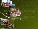 Giới thiệu, hướng dẫn sử dụng và khai thác Trung tâm Thông tin-Thư viện trường Đại học Thủ Đô Hà Nội