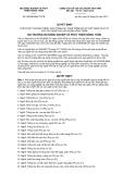 Quyết định số 590/QĐ-BNN-TCCB