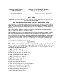 Quyết định số 1549/QĐ-BNN-TCCB