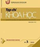 Tạp chí Khoa học Trường Đại học Thủ đô Hà Nội - Số 3, 3/2016