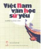 Ebook Việt Nam văn học sử yếu: Phần 1