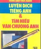 Ebook Tiếng Anh thực hành - Luyện dịch tiếng Anh và tìm hiểu văn chương Anh: Phần 2 - Đắc Sơn