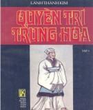 Ebook Quyền trí Trung Hoa (Tập 1): Phần 1
