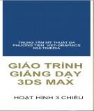 Giáo trình Giảng dạy 3Ds max: Phần 1