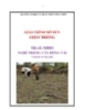 Giáo trình Gieo trồng - MĐ03: Trồng cây bông vải
