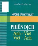 Ebook Hướng dẫn kỹ thuật phiên dịch Anh - Việt, Việt - Anh: Phần 2