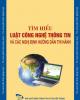Ebook Tìm hiểu Luật Công nghệ thông tin và các Nghị định hướng dẫn thi hành - NXB Bưu điện