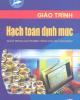 Giáo trình Hạch toán định mức - Nguyễn Hữu Thủy