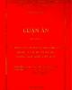 Luận án tiến sĩ Kinh tế vận tải: Mô hình hóa và tối ưu hóa phối hợp quản lý các dự án đô thị (Trong điều kiện Việt Nam)