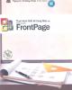 Ebook Thực hành thiết kế trang Web với Microsoft Frontpage: Phần 2 - Nguyễn Trường Sinh (chủ biên)