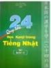 Ebook 24 Quy tắc học Kanji trong Tiếng Nhật - Tập 1