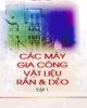 Ebook Các máy gia công vật liệu rắn và dẻo: Tập 1 (Phần 2) - Hồ Lê Viên