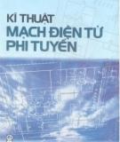 Giáo trình Kĩ thuật mạch điện tử phi tuyến - Phạm Minh Việt, Trần Công Nhượng