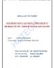 Khóa luận tốt nghiệp: Giải pháp nâng cao chất lượng dịch vụ bộ phận lễ tân - Khách sạn Palace Sài Gòn