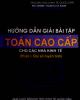 Ebook Hướng dẫn giải bài tập Toán cao cấp cho các nhà kinh tế: Phần 1 - Đại số tuyến tính (Phần 1) - Nguyễn Huy Hoàng