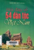 Ebook Hỏi đáp về 54 dân tộc Việt Nam: Phần 2