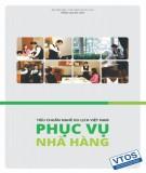 Ebook Tiêu chuẩn nghề Du lịch Việt Nam – Phục vụ nhà hàng: Phần 1