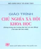 Giáo trình Chủ nghĩa xã hội khoa học: Phần 1 - GS.TS. Đỗ Nguyên Phương (chủ biên)