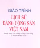 Giáo trình Lịch sử Đảng Cộng sản Việt Nam: Phần 1 - NXB Chính trị Quốc gia