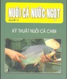 Ebook Nuôi cá nước ngọt (Tập 4: Kỹ thuật nuôi cá chim) - NXB Lao động xã hội